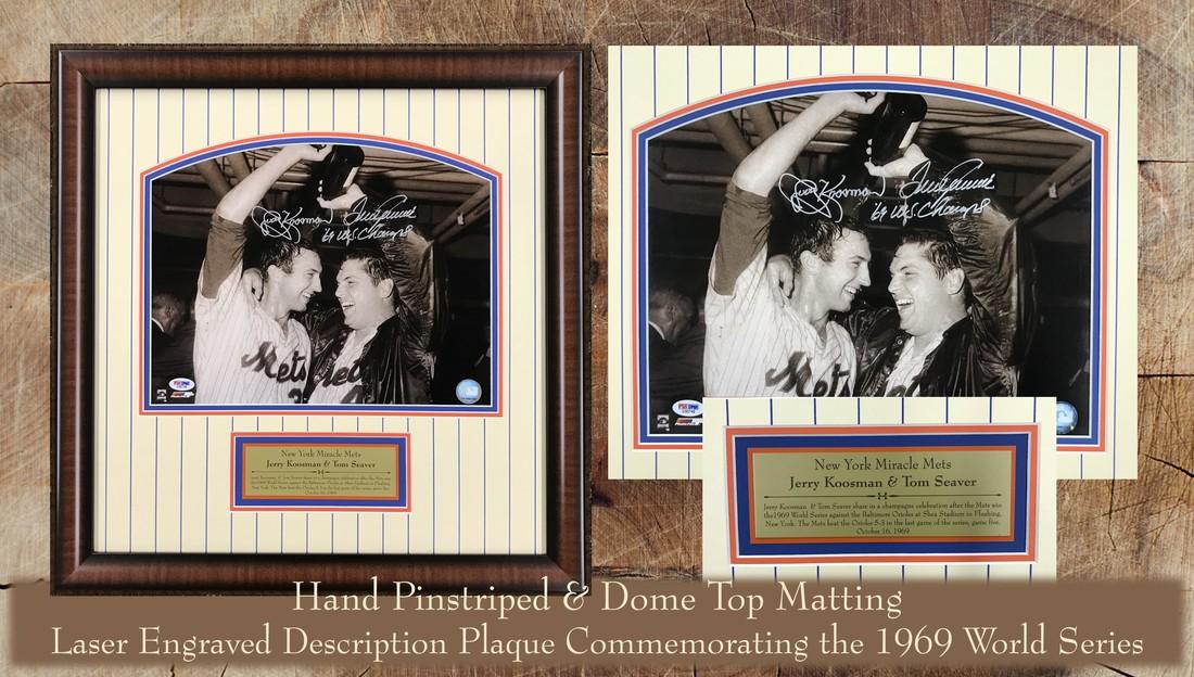 Sports Memorabilia Hall Of Frames Long Island Picture Frame Art
