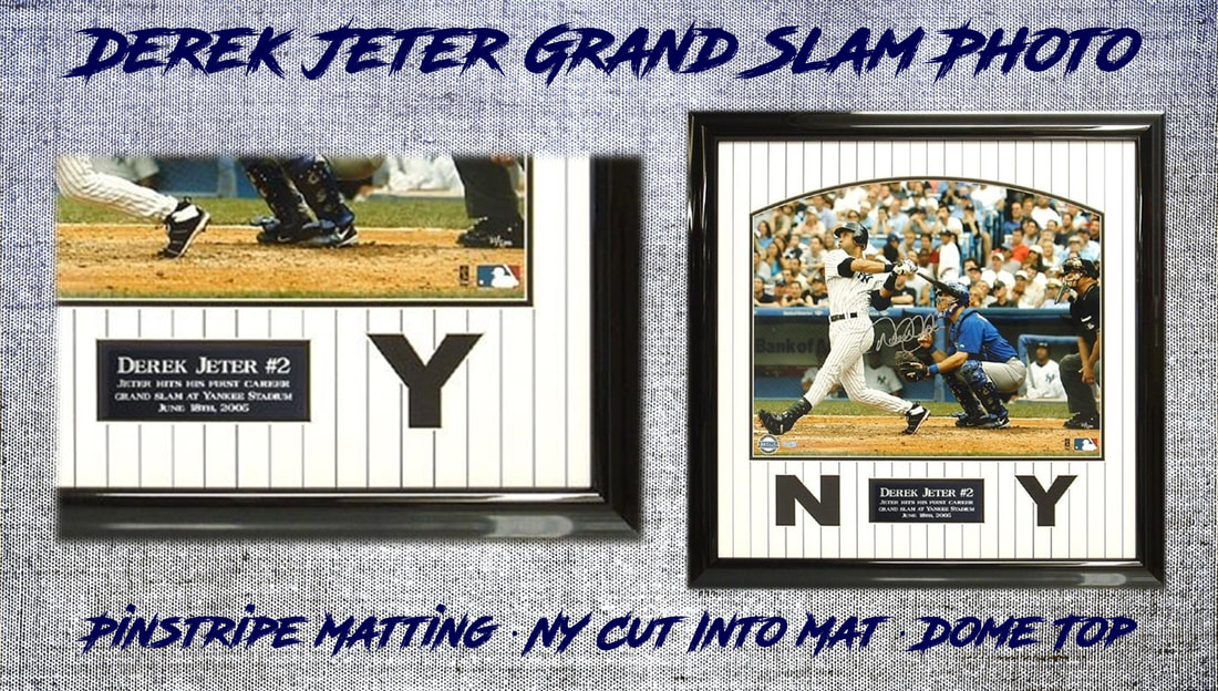 Sports Memorabilia Hall Of Frames Long Island Picture Frame Art