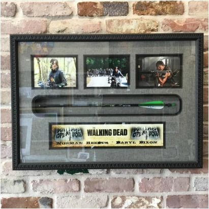 Long Island Picture Frame The Walking Dead Daryl Dixon Arrow Display